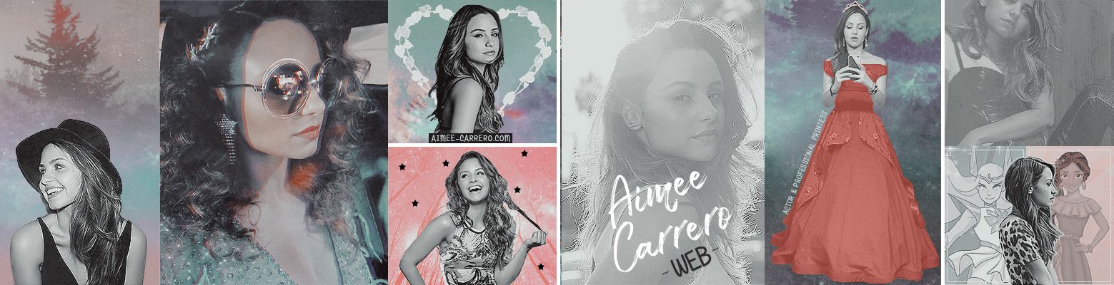 New Design at 'Aimee Carrero Web'